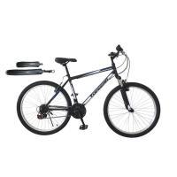 Велосипед горный Topgear. Forester, колеса 26, рама 18, передний амортизатор, 21 скорость