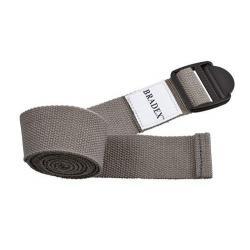 Ремешок для йоги, цвет серый, 183x3.5x1 см