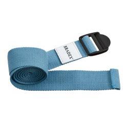 Ремешок для йоги, цвет бирюзовый, 183x3.5x1 см