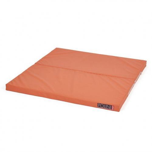 Мат складной Polini Sport, 95х100х5 см, цвет оранжевый