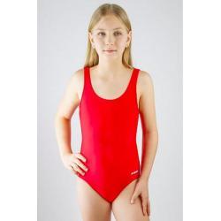 Купальник детский спортивный BG1 4, размер 34, цвет красный