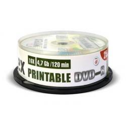 Диск DVD-R, 4.7 Гб (25 штук)