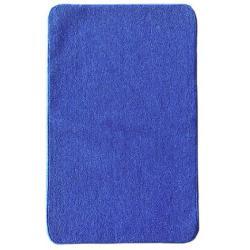 Комплект ковриков для ванной и туалета ECO LIGHT LATEX, синий (60х100 см)