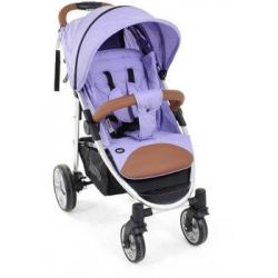 Прогулочная коляска Nuovita Corso, цвет сиреневый/серебристый