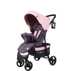 Детская коляска Kira Star, цвет розовый