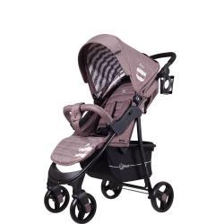 Детская коляска Kira Trends Lines, цвет коричневый
