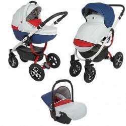 Детская коляска 3 в 1 Tutek Grander Play, цвет ECO1/BCZ