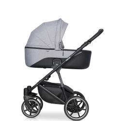 Детская коляска 3 в 1 Side, цвет серый