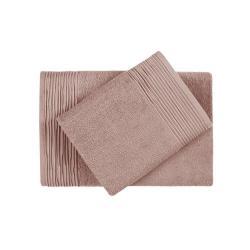 Полотенце махровое Нордтекс. Aquarelle, серия Палитра, цвет мокко, 33х60 см