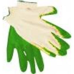 Перчатки трикотажные, обливные
