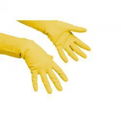 Перчатки многоцелевые, резиновые, размер XL, цвет желтый