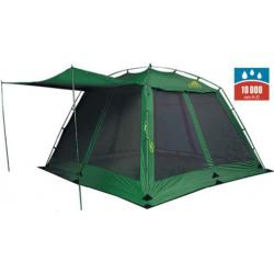Палатка-шатер Alexika China House Alu, зеленая
