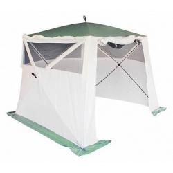 Тент Campack-Tent A-2002W, куб-автомат, с ветро-влагозащитными полотнами (улучшенная конструкция)