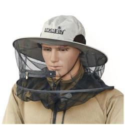 Шляпа антимоскитная Norfin Boonie, размер XL (бежевая)