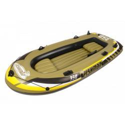 Лодка надувная трехместная Jilong Fishman 350 Set