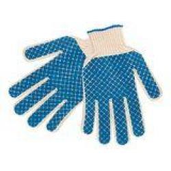 Перчатки хлопчато-бумажные обливные