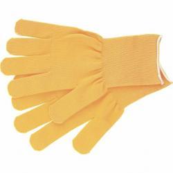 Перчатки нейлон, 13 класс, цвет лимон, L, артикул 67822