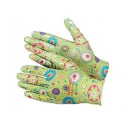 Перчатки из полиэстера, с полимерным покрытием ладони и пальцев, размер М