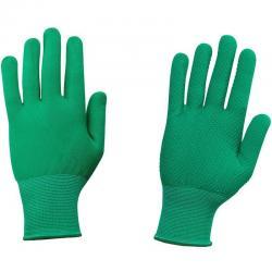 Перчатки рабочие Nl16no, нейлоновые, с ПВХ, класс вязки 15, размер 7-9