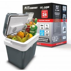 Холодильник автомобильный AVS. CC-24NB, 24 л, 12/220 В