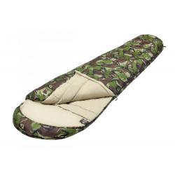 Спальный мешок Jungle Camp Hunter, трехсезонный, левая молния, цвет камуфляж