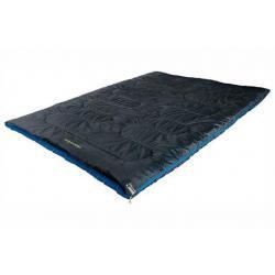 Мешок спальный High Peak Ceduna Duo, антрацит/синий