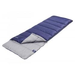 Спальный мешок Trek Planet. Jungle Camp Avola Comfort, с подголовником, левая молния, цвет синий