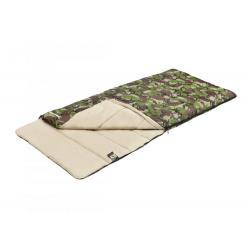Спальный мешок Trek Planet. Jungle Camp Traveller Comfort XL, широкий, левая молния, цвет камуфляж