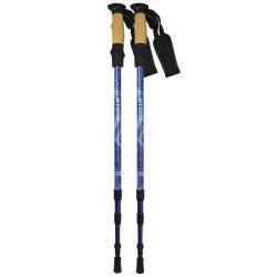 Треккинговые палки Atemi Novus ATP-05, телескопические, twist lock, antishok, 18/16/14 мм, размер 65-135 см (голубые)