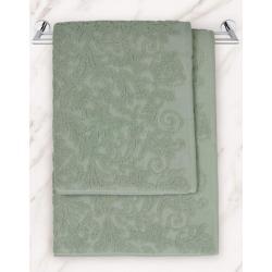 Полотенце махровое Iris, цвет зеленый, 50х90 см