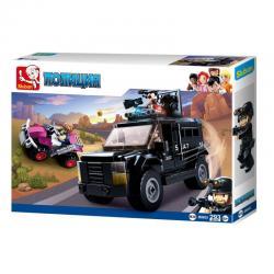 Конструктор Полицейский спецназ (Swat Track), 293 детали