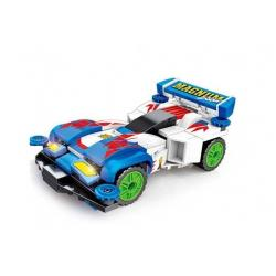 Конструктор Sembo Машинка-трансформер mini 4WD. Гонщик Гоу Сейба Magnum