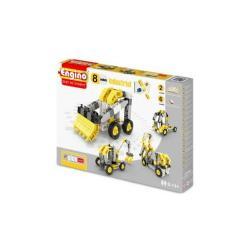 Конструктор Engino Industrial (спецтехника - 8 моделей)