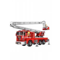 Конструктор XingBao Пожарная машина АПК, 751 деталь
