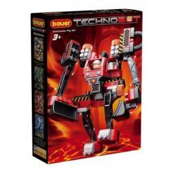 Конструктор Technobot, набор с большим роботом и пилотом, 99 элементов