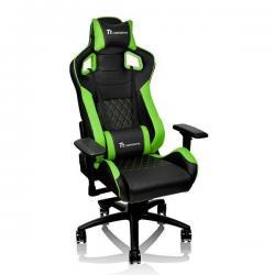 Кресло игровое Tt eSPORTS. GT Fit 100, черно-зеленый