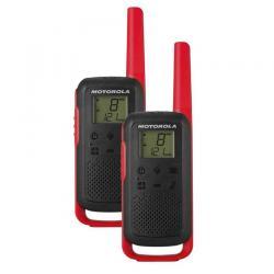 Комплект из двух радиостанций Motorola Talkabout T62, цвет красный