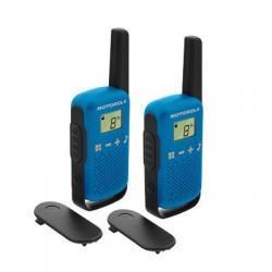 Комплект из двух радиостанций Motorola Talkabout T42, цвет синий