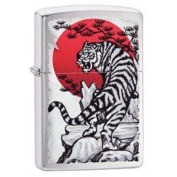 Зажигалка Zippo. Asian Tiger, 36x12x56 мм