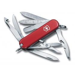 Victorinox. Нож-брелок Mini Champ, 17 функций, 58 мм, красный