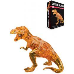 Головоломка 3D Crystal blocks. Динозавр, 50 деталей