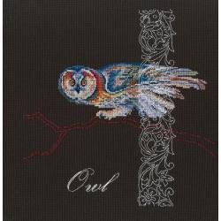 Набор для вышивания крестом РТО Лесная филигрань, 25,5x25,5 см, арт. M787