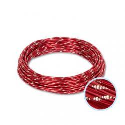 Проволока для плетения Gamma, алюминий, цвет красный, арт. AWC-2 23, 2 мм x 10±0,5 м