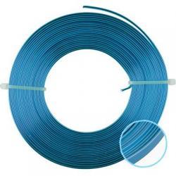 Проволока алюминиевая, плоская, для плетения WW-art, 5 мм, цвет салатовый, арт. AWF-5