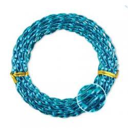 Проволока алюминиевая, крученая, для плетения WW-art, диаметр 3 мм, цвет оранжевый, арт. AWT-3