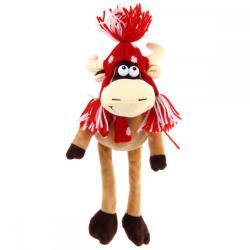 Мягкая игрушка Корова, красная (15 см)