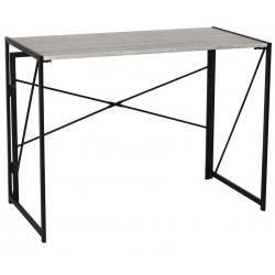 Стол на металлокаркасе Brabix Loft CD-002, 100х50х75 см, складной, цвет дуб антик