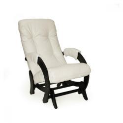Кресло-глайдер Комфорт. Модель 68, цвет корпуса венге, цвет экокожи dundi 112