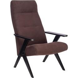 Кресло Leset Tinto, цвет корпуса венге, ткани ophelia 15 (коричневый)