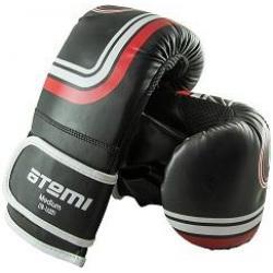 Перчатки снарядные Atemi LTB-16201, размер S, цвет черный
